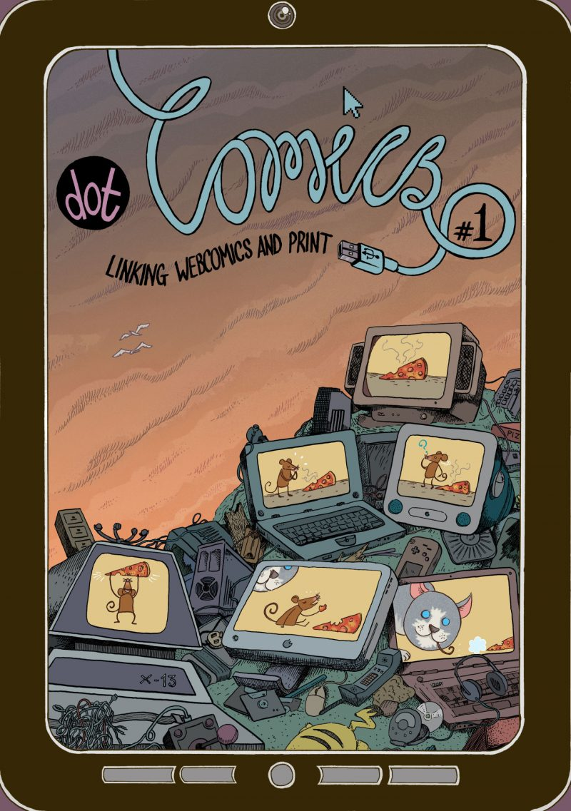 A comics anthology linking web-comics and print. Edited by myself and Elliot Baggott.
