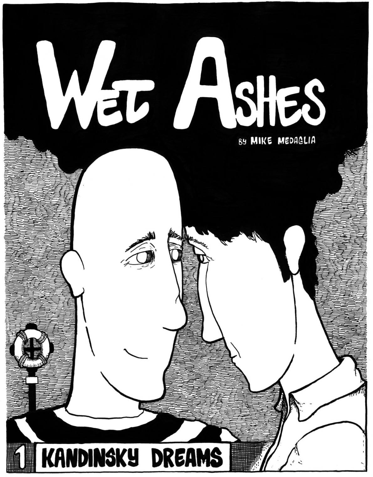 My first self published 24 page comic 'Wet Ashes'. Its hard to look at now.