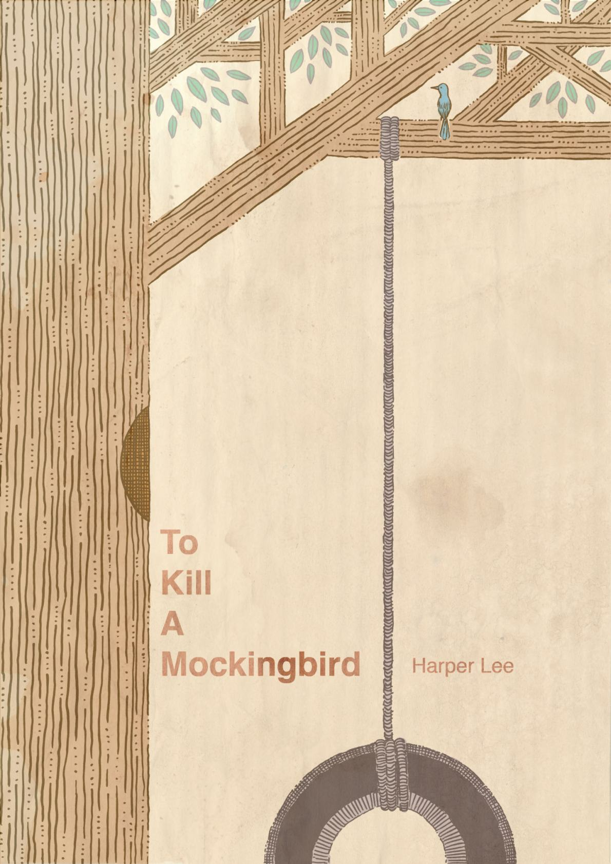 'To Kill a Mockingbird' cover - portfolio piece