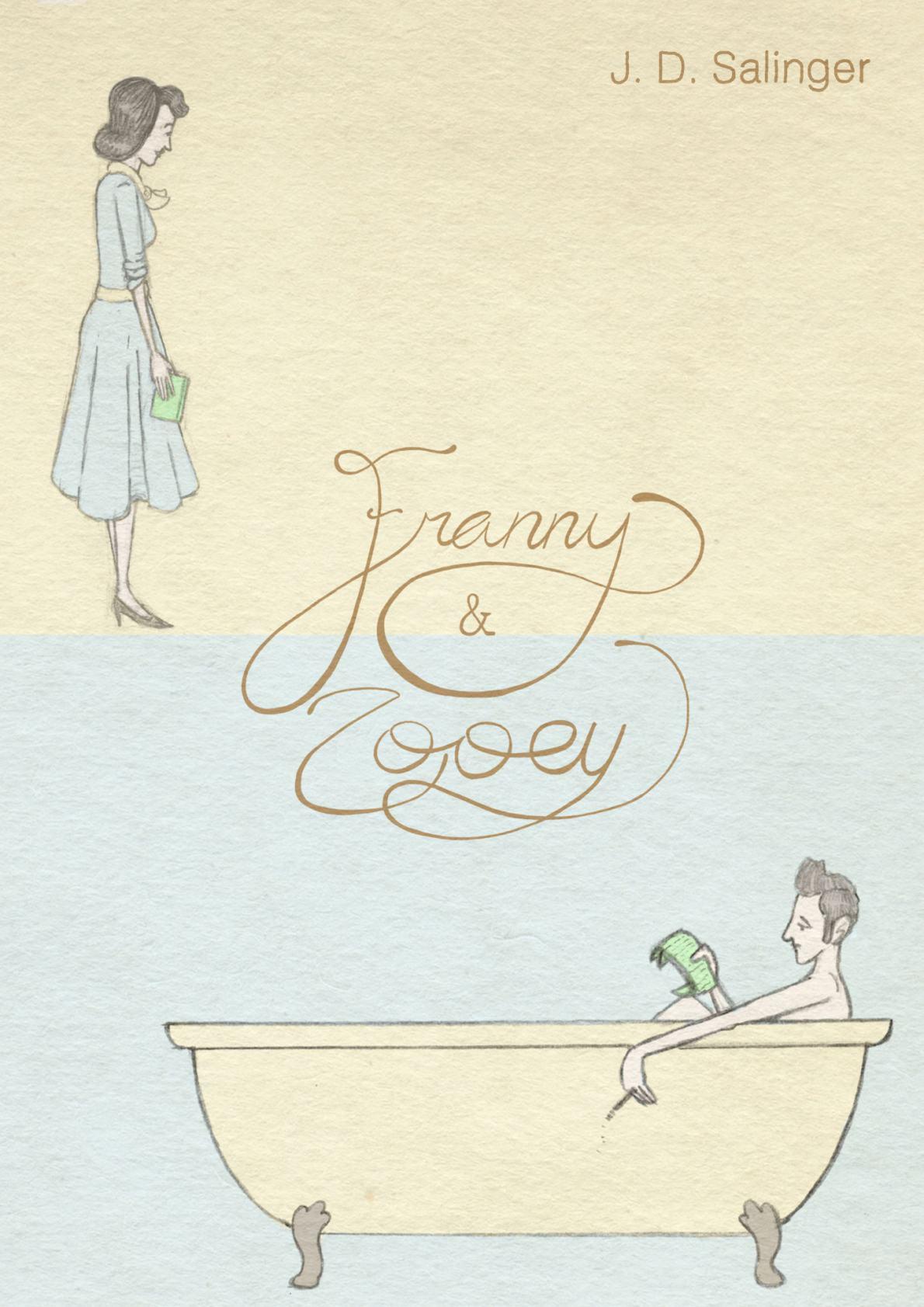 'Franny and Zooey' cover - portfolio piece