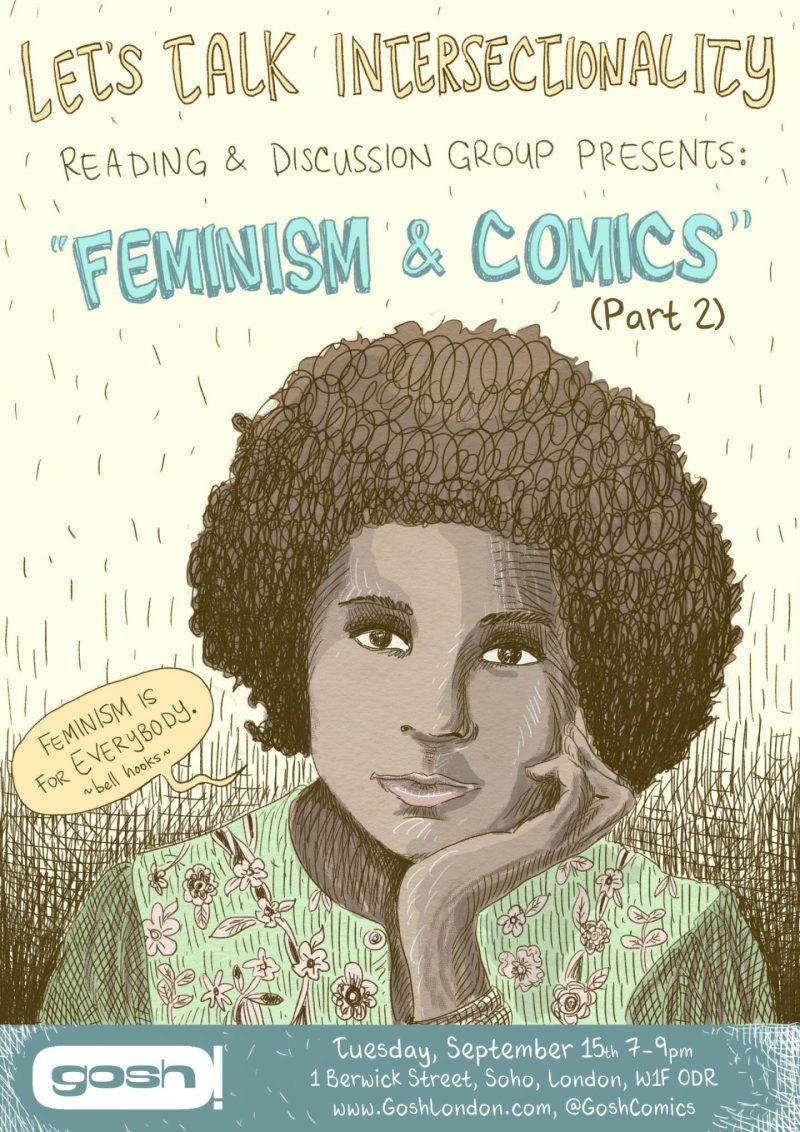 Feminism and comics event