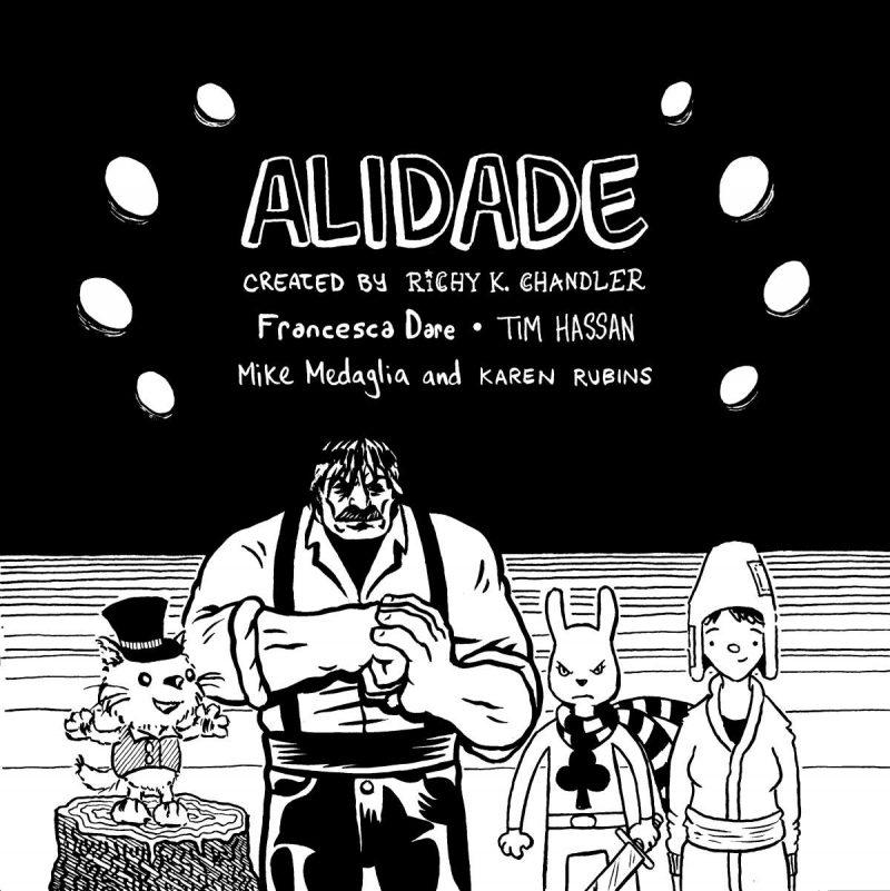 Alidade Talk @ Gosh! Comics