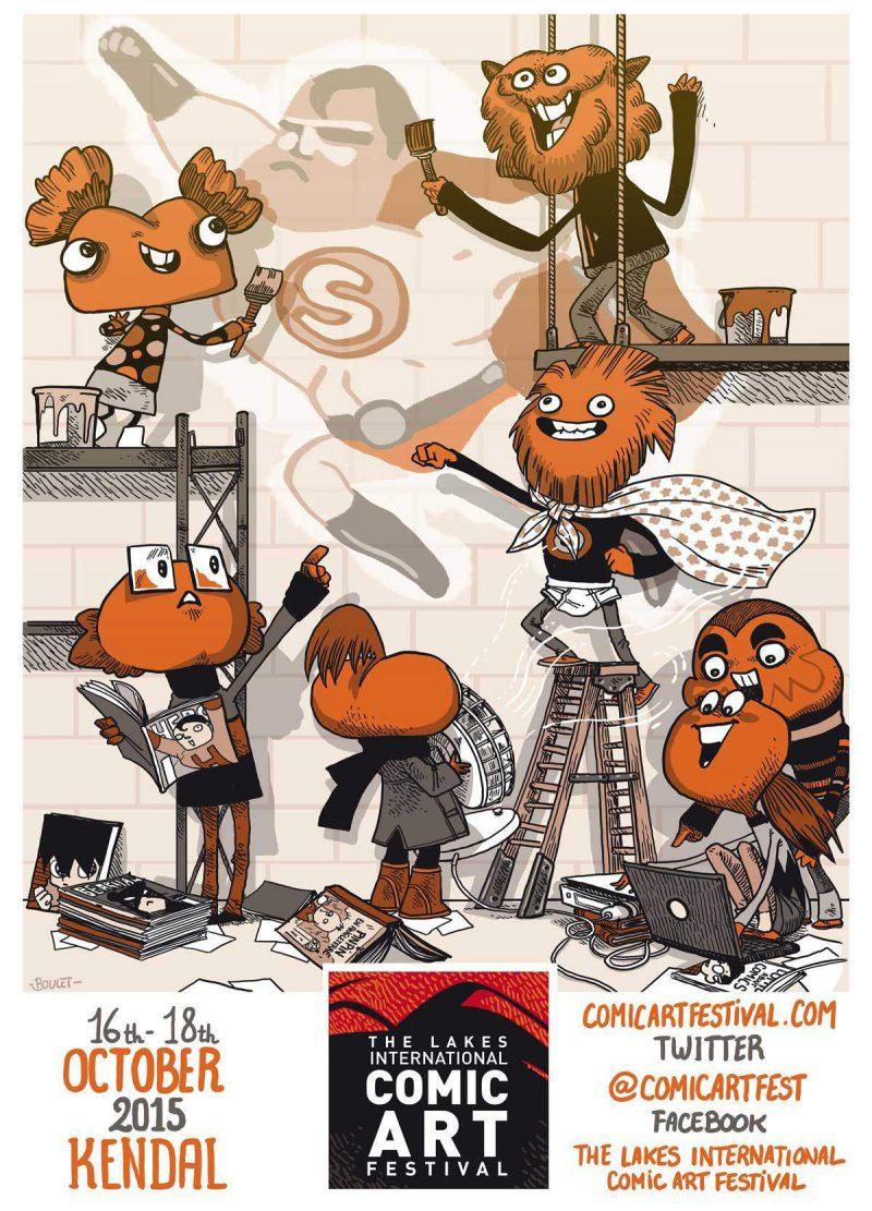 The Lakes International Comic Arts Festival Events