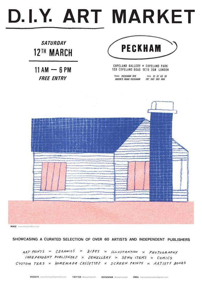 Diy Art Market In Peckham Mike Medaglia